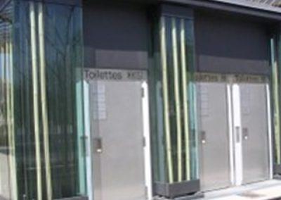 Vidrio Laminado + Hormigón + Acero